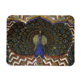 Architectural detail of Peacock Gate Rectangular Magnets