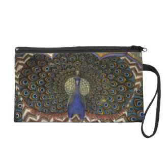Architectural detail of Peacock Gate Wristlet