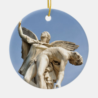 Architectural detail of statue in Berlin, Germany Christmas Ornament