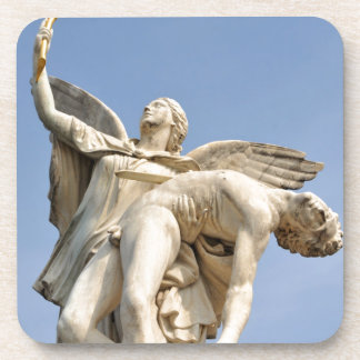 Architectural detail of statue in Berlin, Germany Drink Coaster
