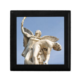 Architectural detail of statue in Berlin, Germany Gift Box
