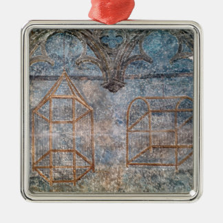 Architectural details from Pope's bedroom Christmas Ornament