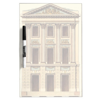 Architectural Facade by Jean Deneufforge Dry Erase Board