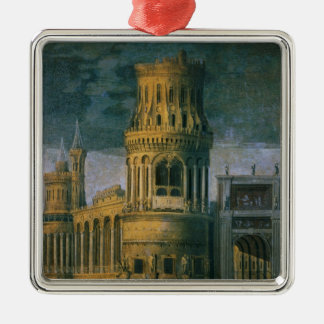 Architectural fantasy christmas ornament
