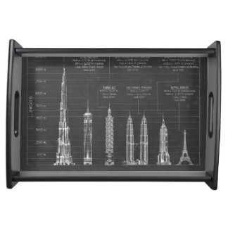 Architectural Heights Serving Tray