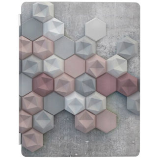 Architectural Hexagons iPad 2/3/4 Smart Cover iPad Cover