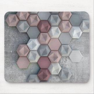 Architectural Hexagons Mousepad (Rectangular)