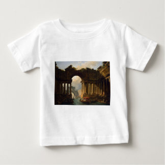 Architectural Landscape with a Canal by Hubert Shirts
