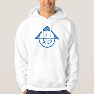 Architectural Reference Symbol Hoodie (blue)