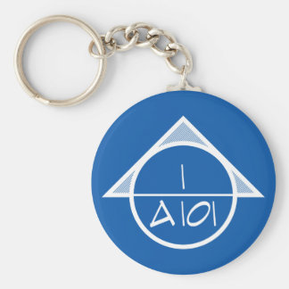 Architectural Reference Symbol Keychain (light)