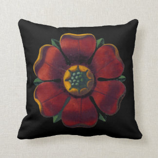Architectural Rosette No. 1 - Pillow