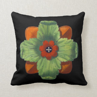 Architectural Rosette No. 4 - Pillow