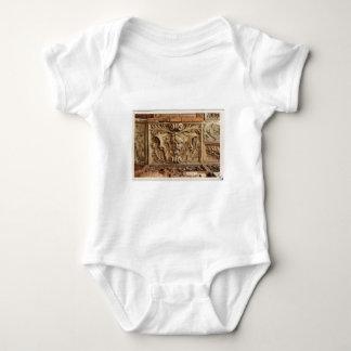 Architectural sculpture baby bodysuit