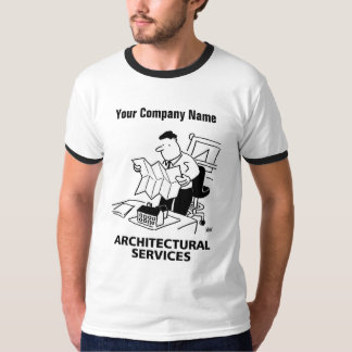 Architectural Services Cartoon T-Shirt