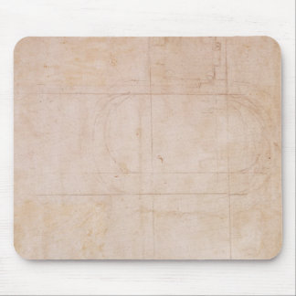 Architectural Sketch Mouse Mat