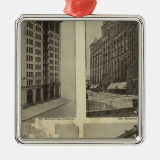 Architectural solidity in Portland, Oregon Christmas Ornament