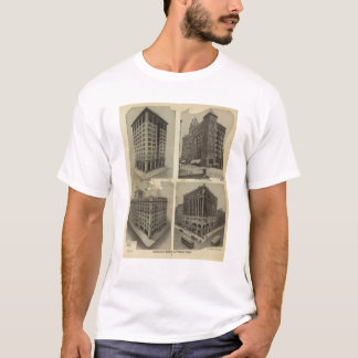 Architectural solidity in Portland, Oregon T-Shirt