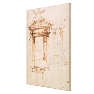 Architectural study canvas print
