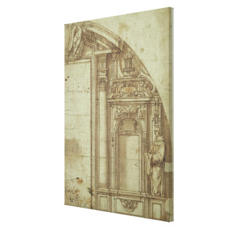 Architectural Study Canvas Print