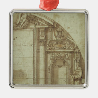Architectural Study Christmas Ornament