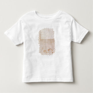 Architectural Study with Notes Tee Shirt