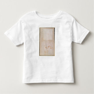 Architectural Study with Notes Toddler T-Shirt