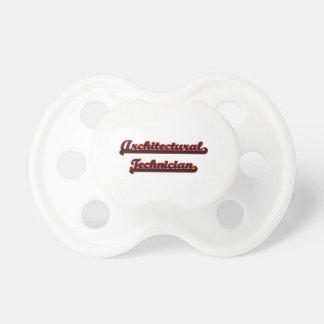 Architectural Technician Classic Job Design BooginHead Pacifier