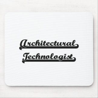 Architectural Technologist Artistic Job Design Mouse Pad