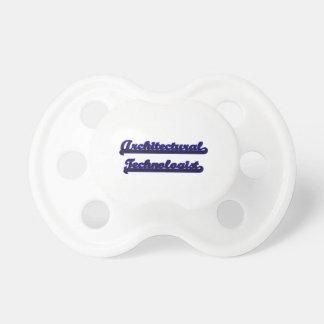 Architectural Technologist Classic Job Design BooginHead Pacifier