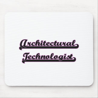 Architectural Technologist Classic Job Design Mouse Pad