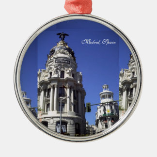 Architecture, Blues Skies,  Buildings, Churches Christmas Ornament