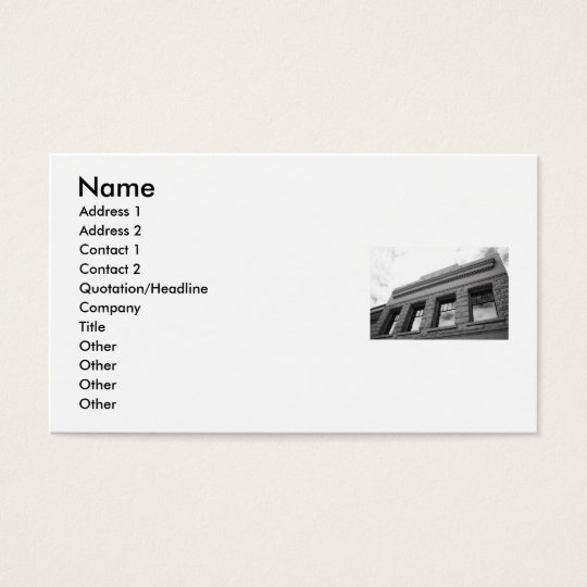 Architecture Details Business Card