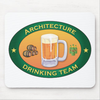 Architecture Drinking Team Mouse Pad