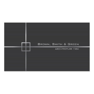 Architecture Firm Pack Of Standard Business Cards