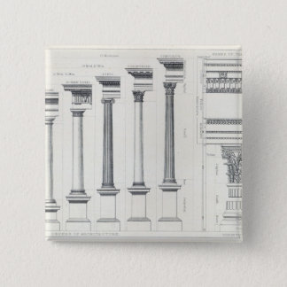 Architecture I: Orders of Architecture 15 Cm Square Badge