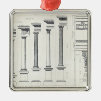 Architecture I: Orders of Architecture Christmas Ornament