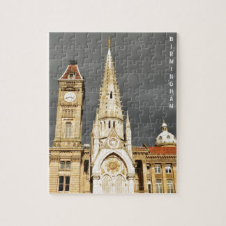 Architecture in Birmingham, England Jigsaw Puzzle