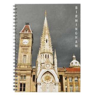 Architecture in Birmingham, England Notebook