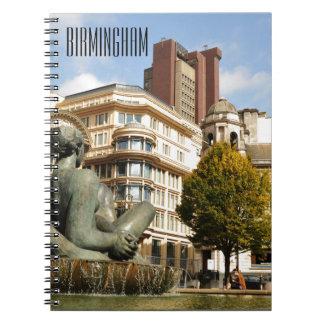Architecture in Birmingham, England Notebook