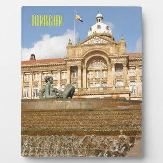 Architecture in Birmingham, England Plaque