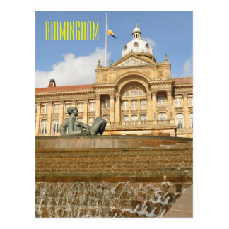 Architecture in Birmingham, England Postcard
