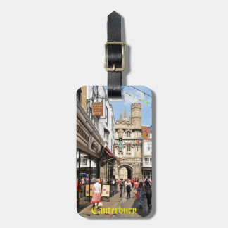 Architecture in Canterbury, Kent, England Luggage Tag