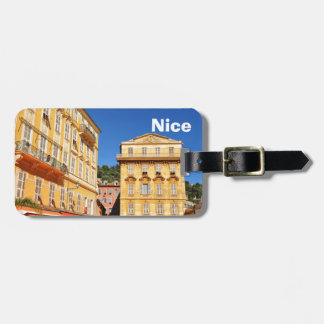 Architecture in Nice, France Luggage Tag