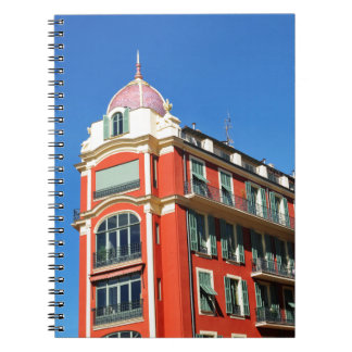 Architecture in Nice, France Notebooks