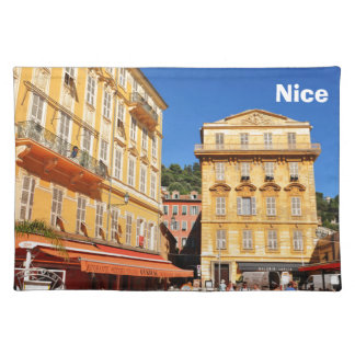 Architecture in Nice, France Placemat
