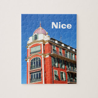 Architecture in Nice, France Puzzle