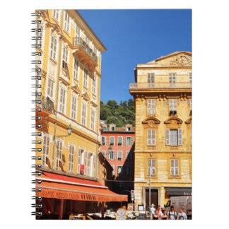 Architecture in Nice, France Spiral Notebook