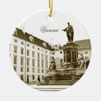 Architecture in Vienna, Austria Christmas Ornament
