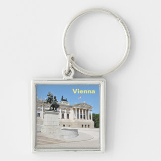 Architecture in Vienna, Austria Key Ring