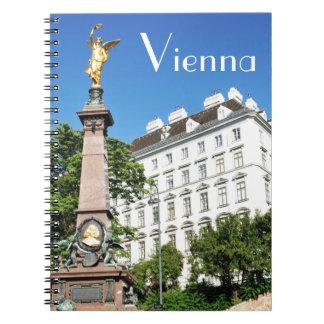 Architecture in Vienna, Austria Spiral Notebook